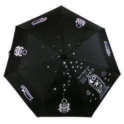 """Parapluie Oméga """"Horus"""", paré de symboles mythiques de l'ancienne Egypte..."""