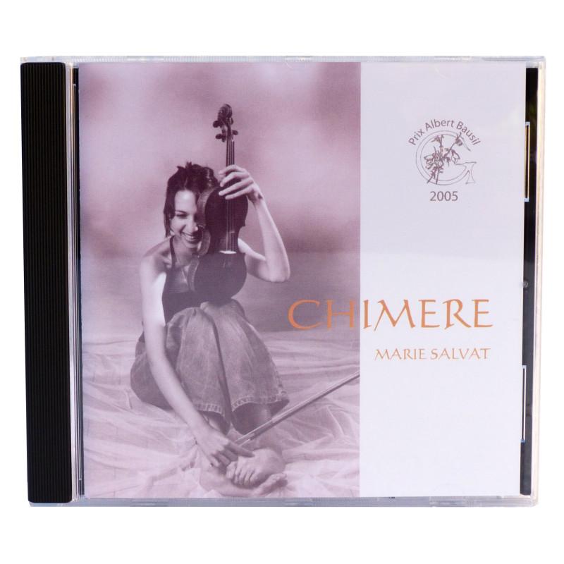 CD Chimère / Recto / Marie Salvat - Titre de l'album et interprète -
