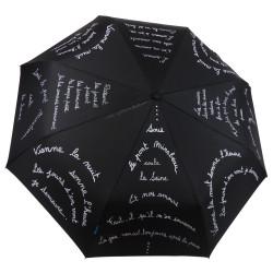 """Parapluie Epsilon """"Le Pont Mirabeau"""", paré du célèbre poème de Guillaume Apollinaire..."""