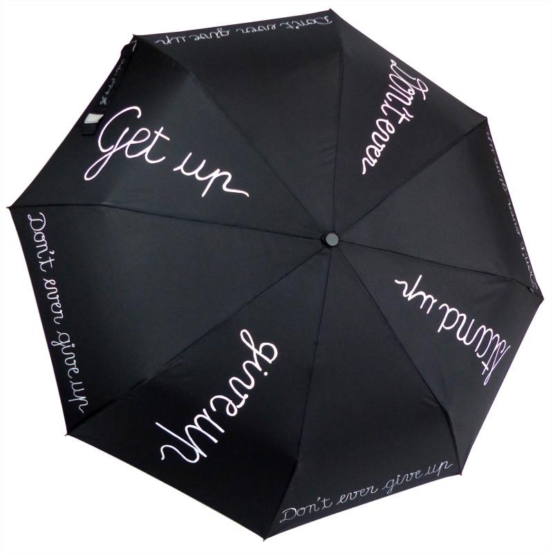 """Parapluie Charlie's playing """"Get up"""", le parapluie qui va de l'avant."""