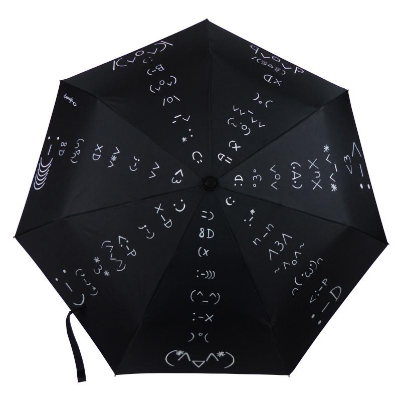 """Parapluie Alpha """"Émoticônes"""" illustrations de bonheur, d'amitié et d'amour..."""
