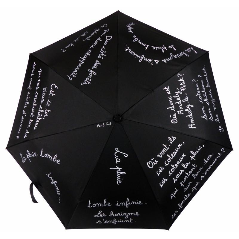 """Parapluie Alpha """"La pluie"""", comme une évidence !"""