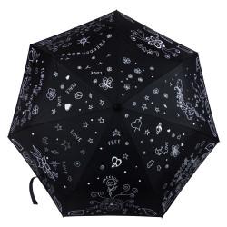 "Parapluie Oméga ""Peace & Love"""